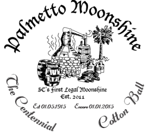 Palmetto Moonshine Centennial Cotton Ball