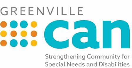 Greenville CAN logo strengthening community for special needs and disabilities