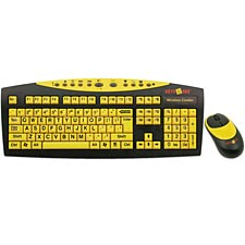 Keys-U-See Wireless Keyboard & Mouse