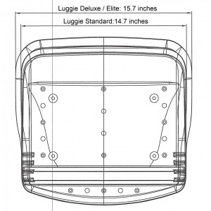 Luggie Seat Measurement