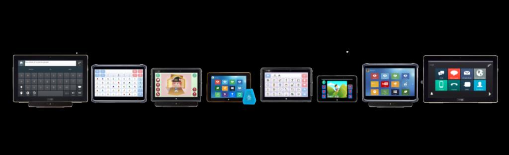 Grid Pad range of options