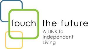 Touch the Future Logo A LINK to Independent Living